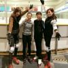 フィギュアスケーターのトレーニング