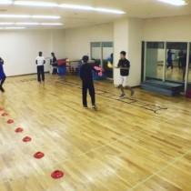 シチズンプラザでフィギュアスケート体幹トレーニング