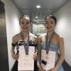 トレーニングの生徒がフィギュアスケートの試合で優勝&3位になりました。