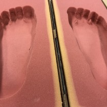 色んな足裏