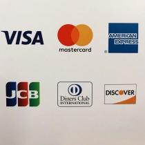 クレジットカードがご利用できるようになりました。