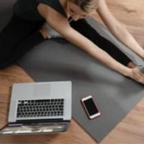 自宅でできるトレーニング、ストレッチ、食事指導のオンラインサポート開始のご案内